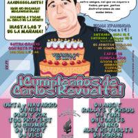Imagen representativa de Cumpleaños de Carlos Revuelta 2009 @ Crazy