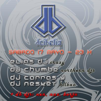 Cartel de la fiesta Conexion Bilbao @ Dcibelia