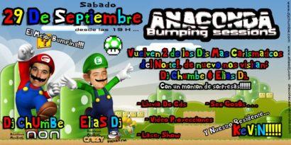 Cartel de la fiesta Super Bumping Brothers @ Anaconda