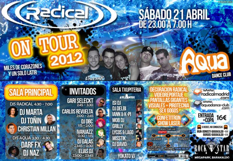 Aqua Dance pres. Radical on Tour @ Rock Star Live
