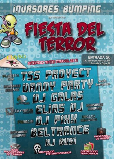 2012.05.12 Invasores Bumping pres. Fiesta del Terror @ Limbo A Internet