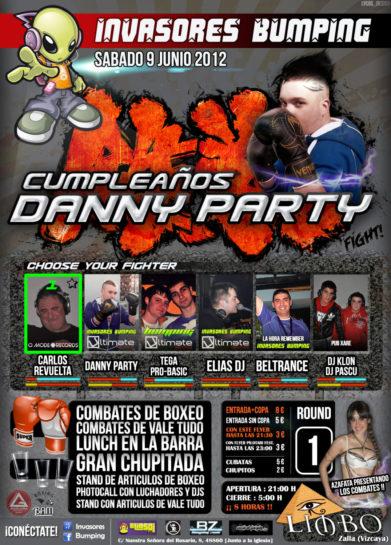 2012.06.09 Invasores Bumping pres. Cumpleaños Danny Party @ Limbo Internet