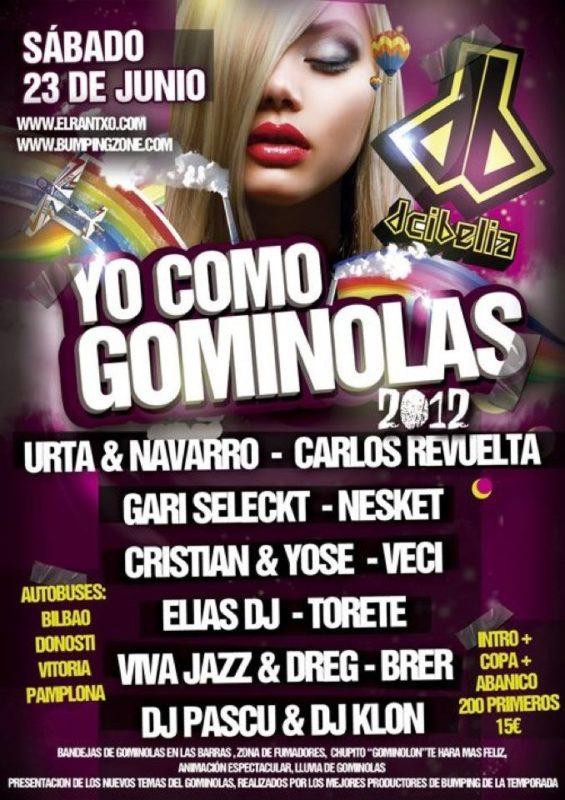 Yo Como Gominolas 2012 @ Dcibelia