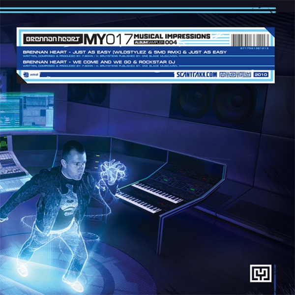 Imagen representativa del temazo Brennan Heart – Just As Easy (Wildstylez & SMD Remix)