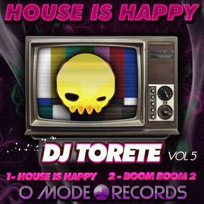 Imagen representativa del temazo Dj Torete – House is Happy