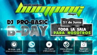 El Diario de Elias Dj 23 Dj Pro Basic B Day @ Androides