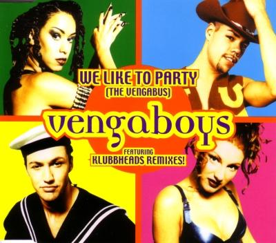 Imagen representativa del temazo Vengaboys – We Like To Party (Klubbheads Remix)