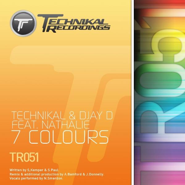Imagen representativa del temazo Technikal & Djay D feat. Nathalie – 7 Colours