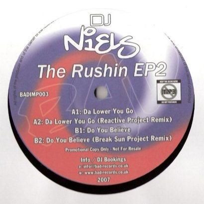 DJ Niels The Rushin EP 2