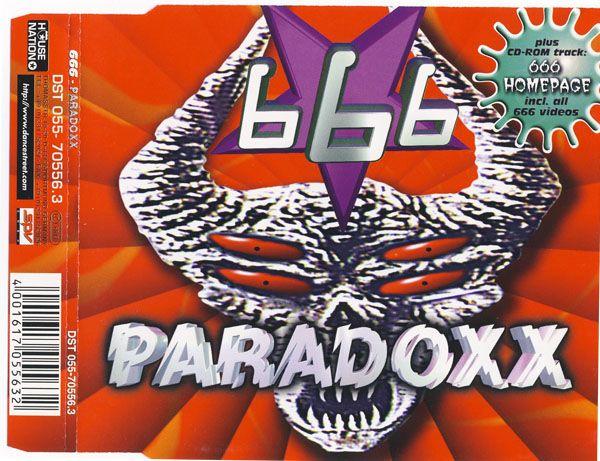 Imagen representativa del temazo 666 – Paradoxx (Club Mix)