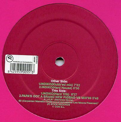 Imagen representativa del temazo Miles – Indiko (Klubb'ed Mix)