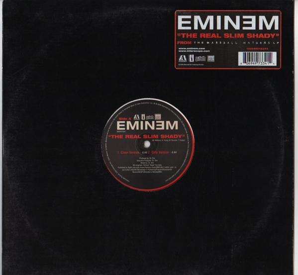 Imagen representativa del temazo Eminem – The Real Slim Shady