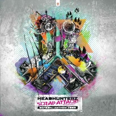 Headhunterz Scrap Attack Defqon.1 Anthem 2009