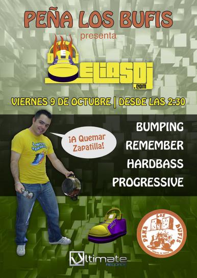 Cartel de la fiesta Elias Dj @ Los Bufis (Fiestas de Medina)