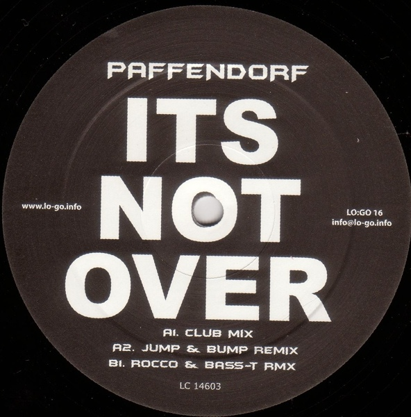 Imagen representativa del temazo Paffendorf – It's Not Over