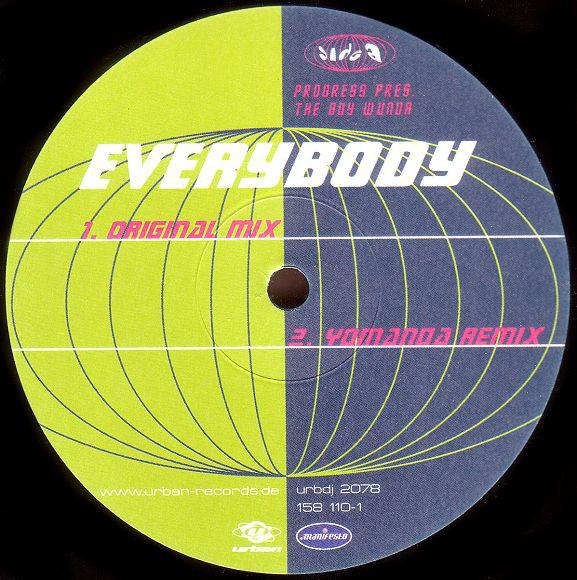 Imagen representativa del temazo Progress pres. The Boy Wunda – Everybody (Klubbheads Remix)