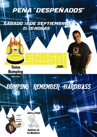 Flyer o cartel de la fiesta Elias Dj @ Peña Despeñados 2017