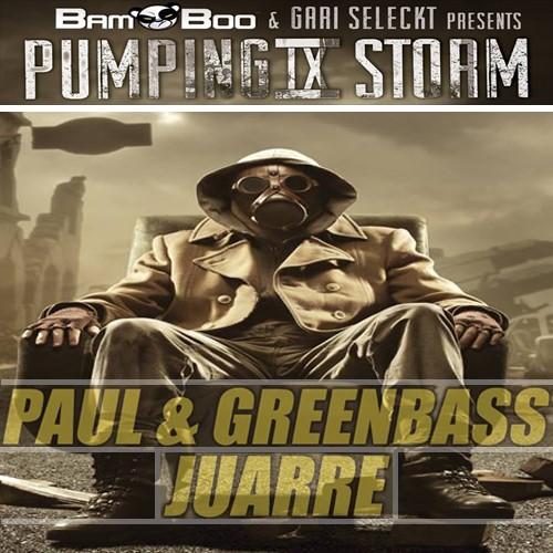 Imagen representativa del temazo Paul & Greenbass, Juarre – Pumping Storm