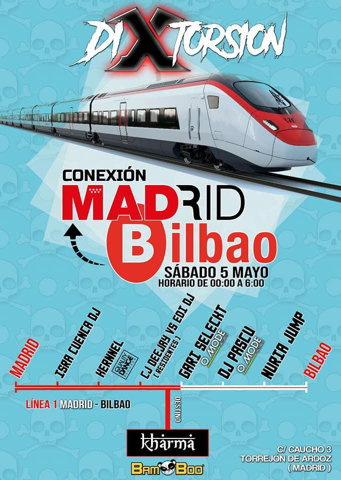 Imagen representativa de Conexión Madrid Bilbao @DiXtorsion