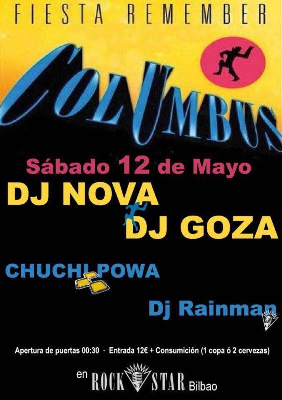 Fiesta Columbus @ Rock Star (Mayo 2018)