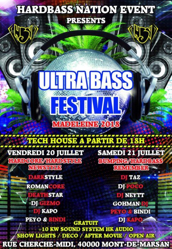 Ultrabass Festival @ Mont-de-Marsan (Sábado)
