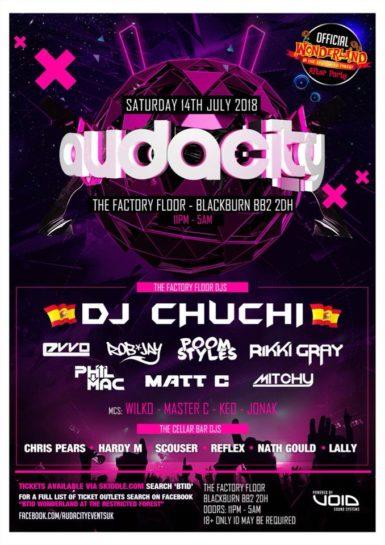 Audacity @ The Factory Floor
