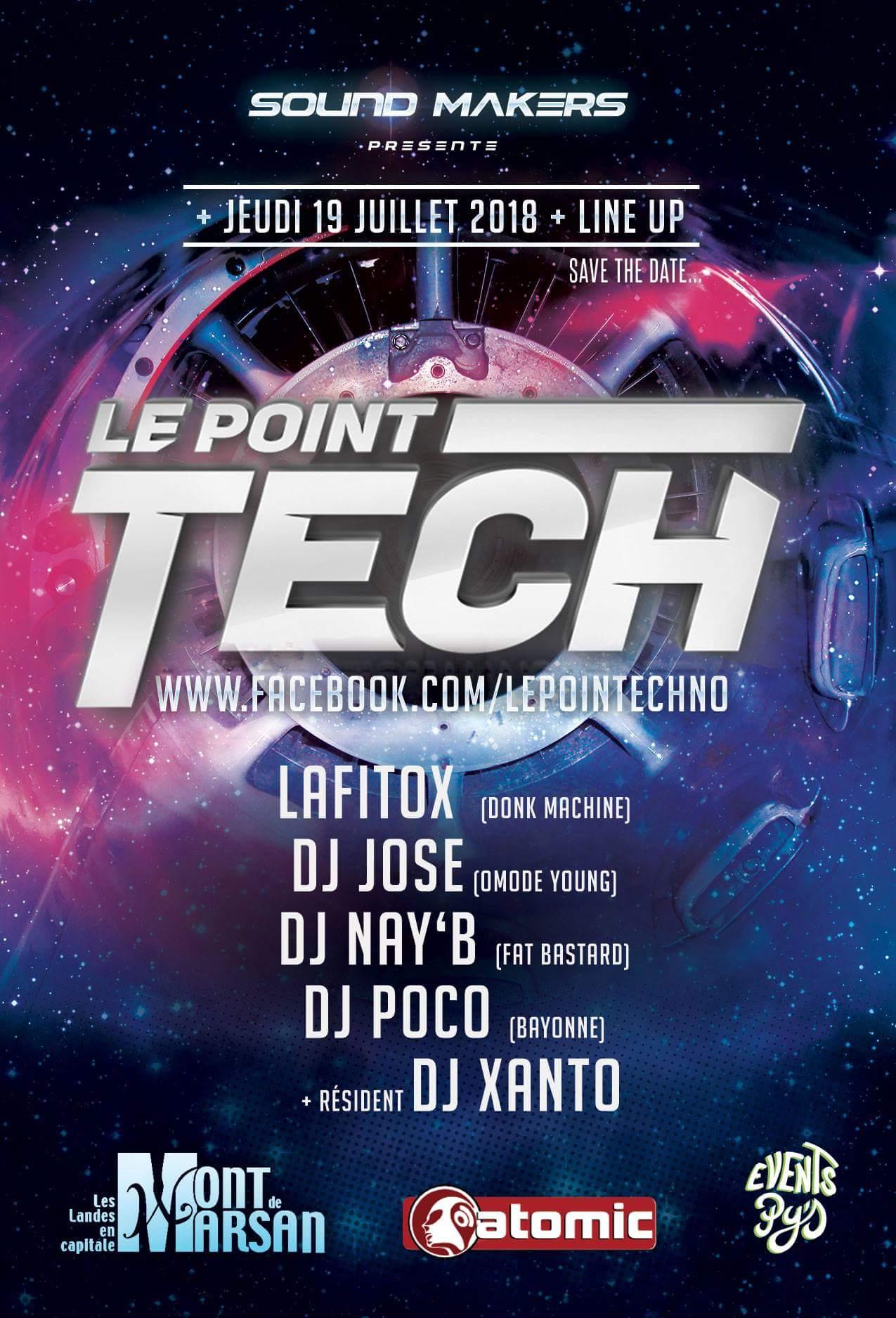 Imagen representativa de Le Point Techno 2018 (Día 19)