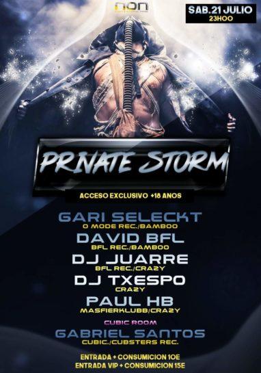 Private Storm @ NON