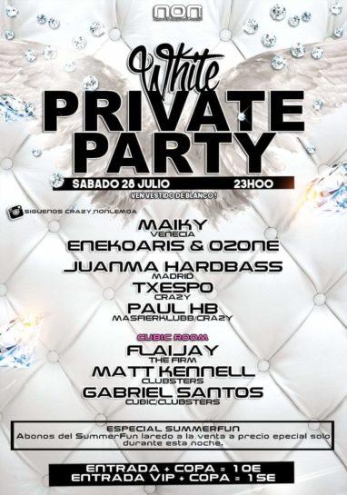 White Private Party @ NON