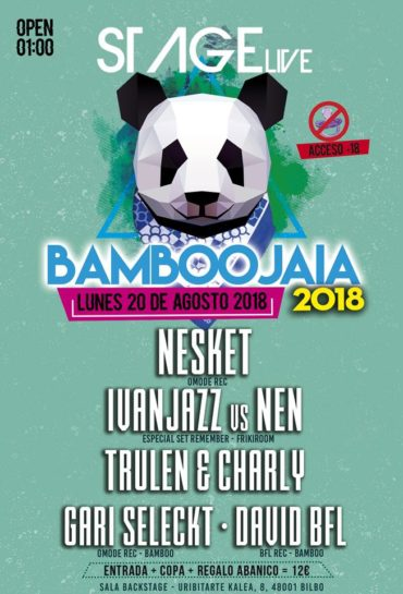 BamBooJaia 2018 @ Stage Live 1