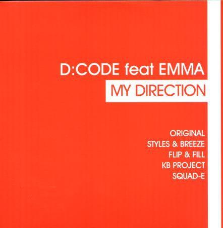 Imagen representativa del temazo D:CODE Feat Emma – My Direction