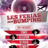 Imagen representativa de Les Ferias Bumping 2018 @Bar Mario 3G (Viernes)