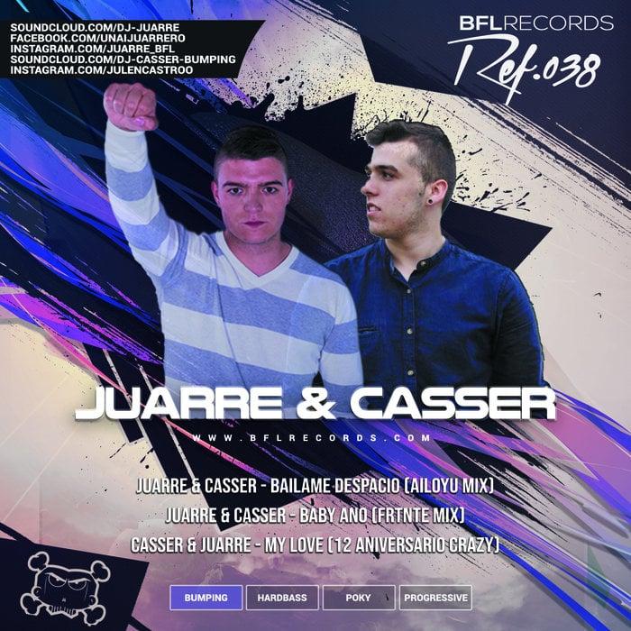 Imagen representativa del temazo Casser & Juarre – My Love (12 Aniversario Crazy)