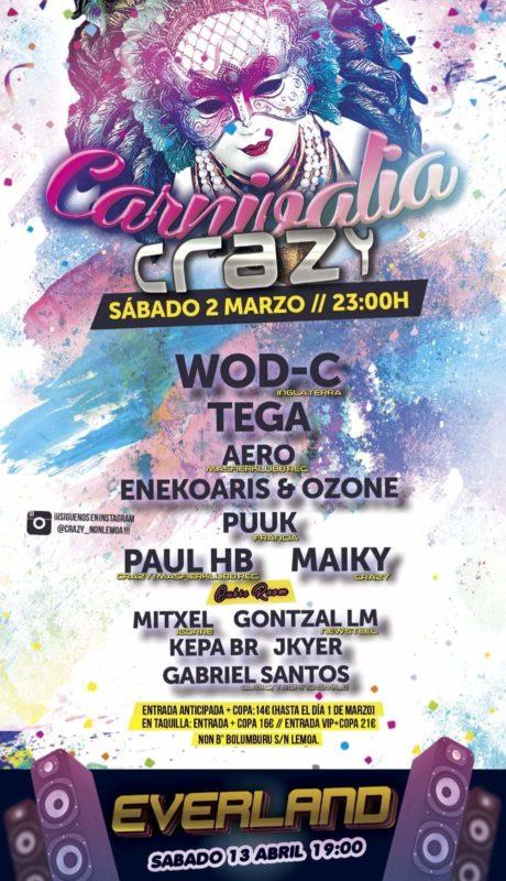 Carnivalia Crazy 2019 @ NON