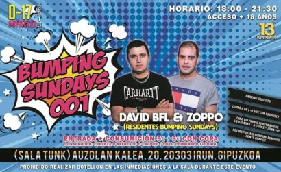 Bumping Sundays 001 @ Tunk