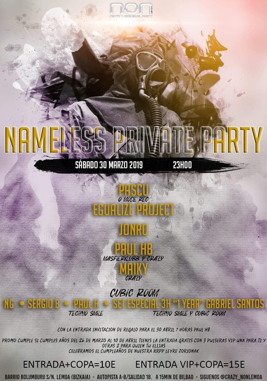 Imagen representativa de Nameless Private Party @ NON