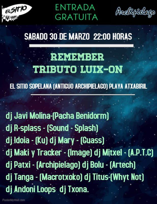 Remember Tributo Luix-On @ El Sitio