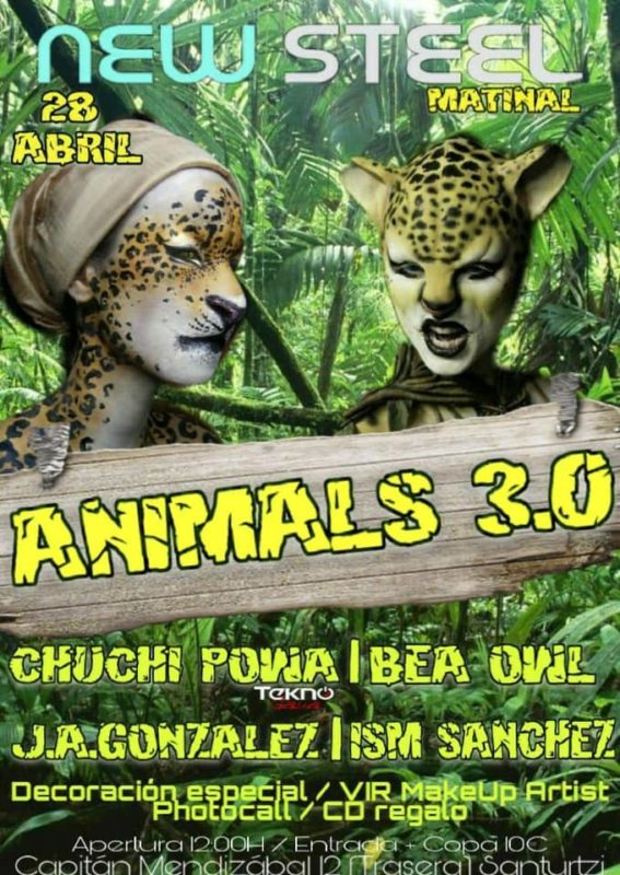 Animals 3.0 en New Steel