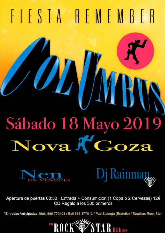 Columbus @ Rock Star (18 Mayo 2019)