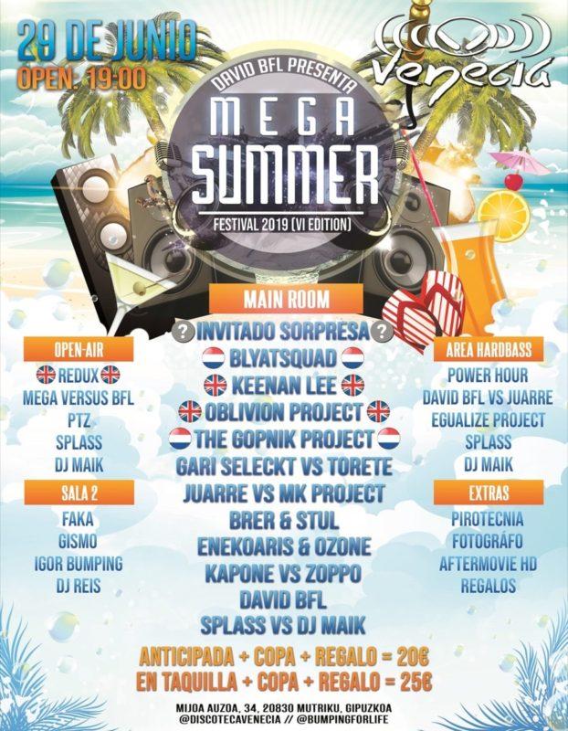Mega Summer Festival 2019 @ Venecia