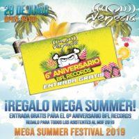 Mega Summer Festival 2019 @ Venecia Entrada aniversario BFL