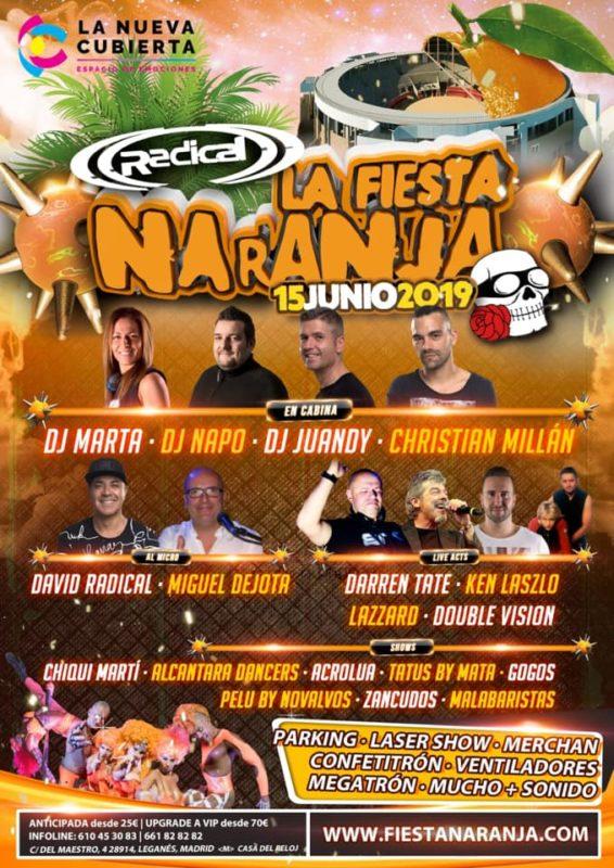 Radical La Fiesta Naranja 2019 @ La Cubierta