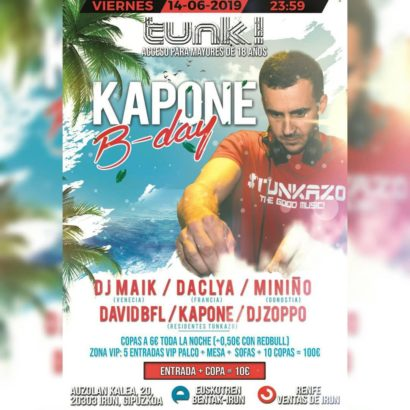 Kapone Bday @ Tunk