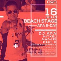 Imagen representativa de Apa B-Day @ Beach Stage