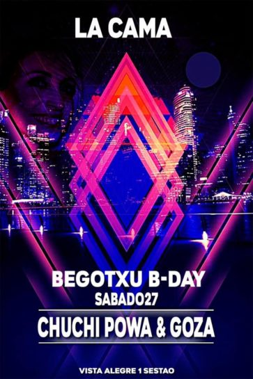 Begotxu B day @ La Cama