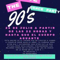 Imagen representativa de Love the 90 en La Fragua