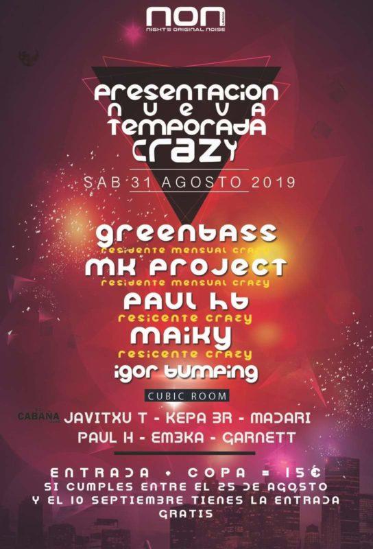 Presentación nueva temporada Crazy 2019