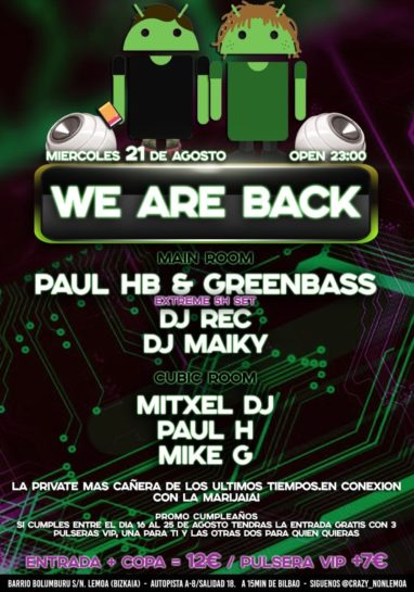 We Are Back en NON