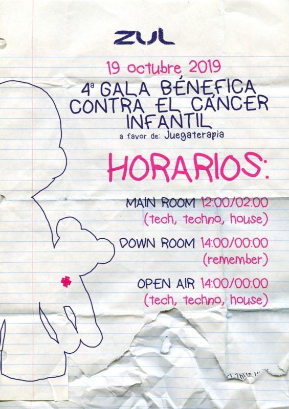 4ª Gala Benéfica Contra el Cáncer Infantil en Zul