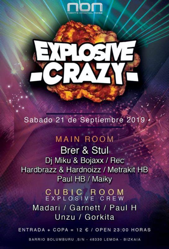 Explosive Crazy en NON
